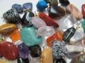 Přívěšky tromlovaný kámen  50 ks různých...