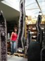 Ametystová geoda EXTRA 660 kg - Brazílie...