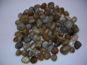 Tumbled agate from Indie for orgonite
