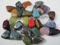 Pendants tumbled stone 100 pcs mixed in bag