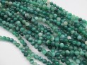 Agate green extra round 8 mm beads