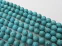 Tyrkys rek.kuličky šňůra - 6 mm