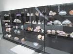 Kameny ve vitrínách - duben 2021