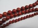 Jaspis červený šňůra kuliček