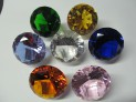 Faceted crystal diamond 100 mm imitation