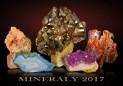 Nástěnný kalendář velký Minerály 2017