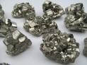 Pyrit drůza krystalů extra - Peru