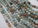 Amazonit mix kuličky šňůra
