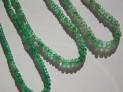 Smaragd - facetovaný náhrdelník.